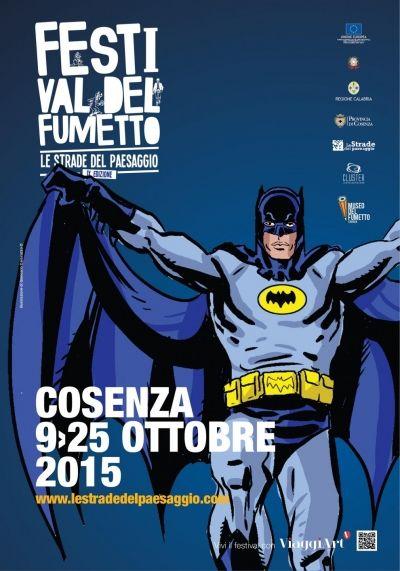 IX edizione, ottobre 2015 Festival del Fumetto - Le Strade del Paesaggio -