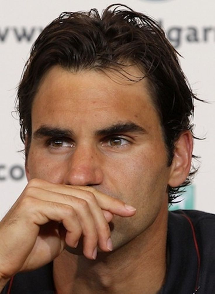 It's in the eyes! Roger Federer deep in thought. #tennis #ausopen  www.australianopen.com