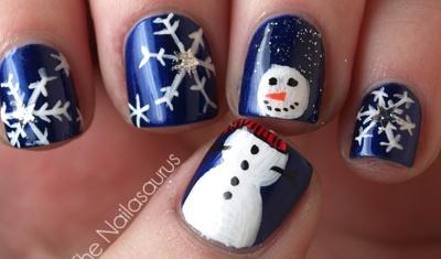 sneeuwpop op je nagels!