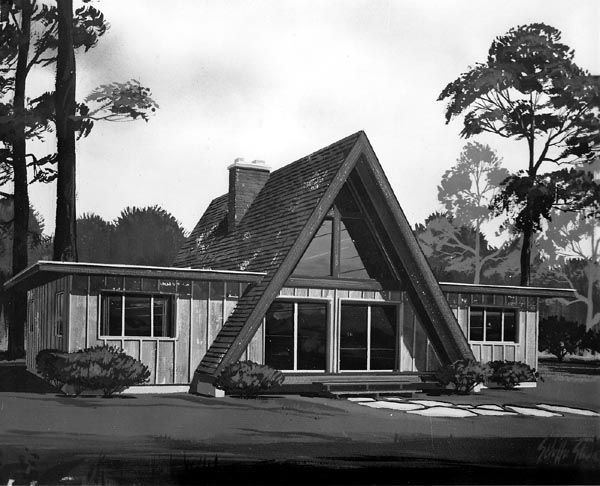 Best 25+ A frame house plans ideas on Pinterest | A frame cabin ...