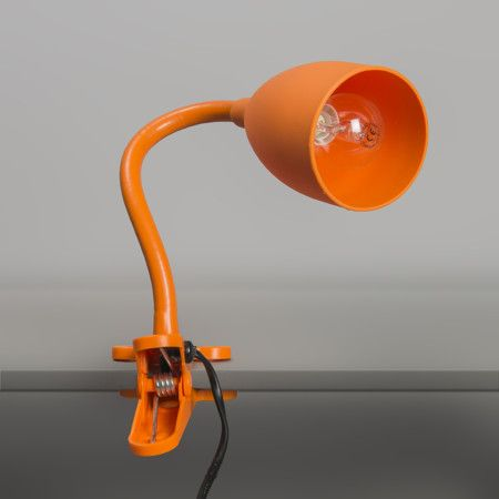 Klemmleuchte Young flex orange #Tischleuchte #Bürolampe #Nachttischlampe #Lampe
