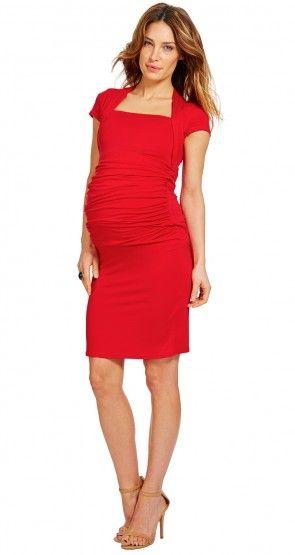 Envie de Fraises robe rouge moulante / Red bodycon dress