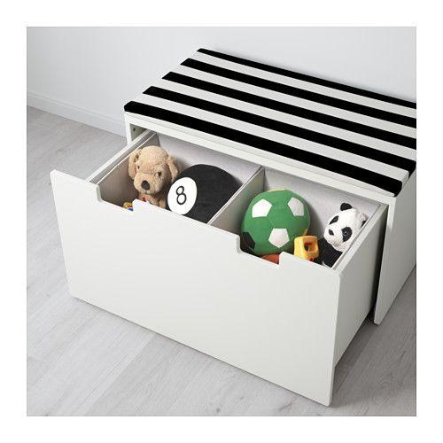 STUVA Bank met bergruimte - wit/wit - IKEA