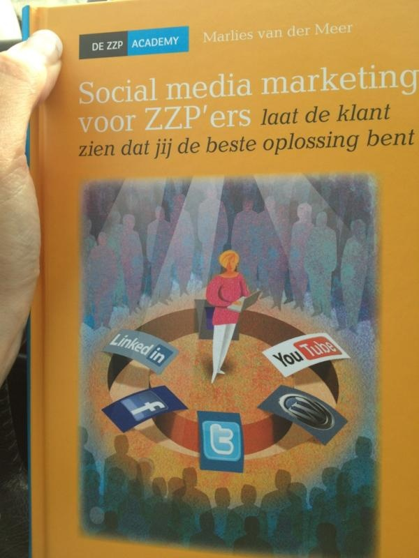Clairewerkt over Social media marketing zzp'ers
