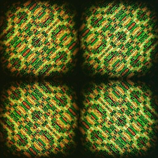 RED DATA STREAM PULSE - Colin Maxwell www.colinmaxwell.net   #colinmaxwellart #colinmaxwellartist #art #artist #fineart #mayan #abstract #contemporaryart #green #yellow #animated