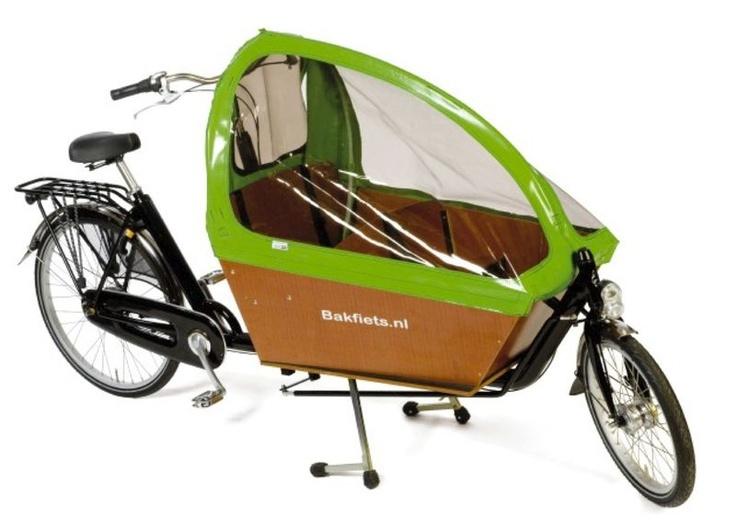 Nīderlandes bērnu un mantu pārvadāšanas kaste, advancētā - ar jumtiņu pret lietu un vēju