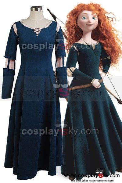 Brave-Princess-Merida-Dress-Cosplay-Costume-6