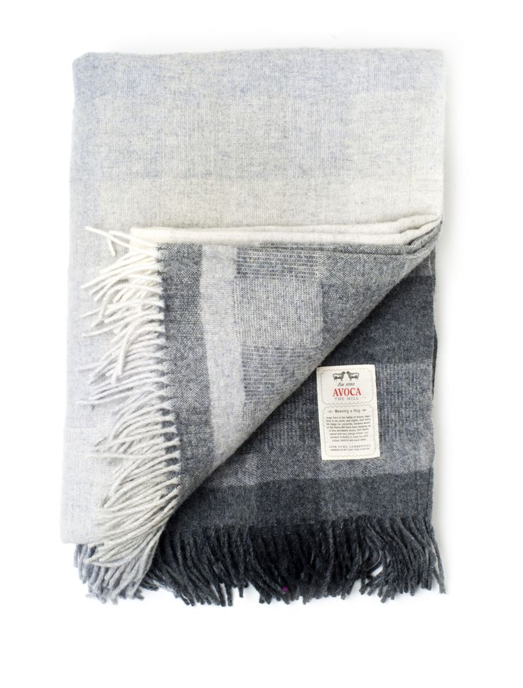 Lambswool Throws, Sofa Throws, Bed Throws, Gray throws, Grey blankets - Avoca.com