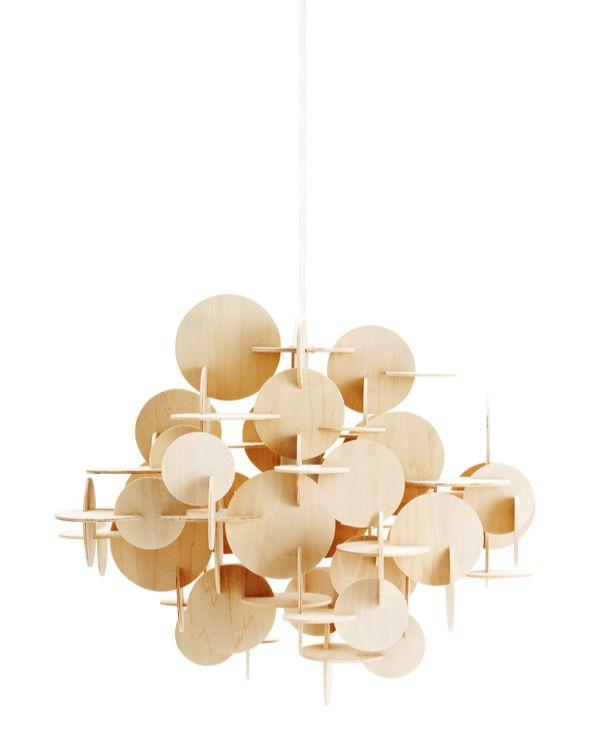 Kjøp Bau Lampe Natur L - Normann Copenhagen hos Confident Living