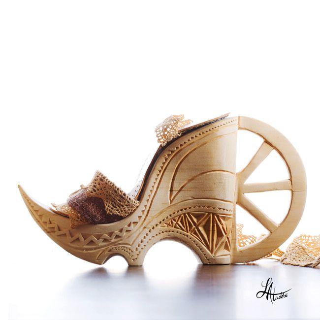 Shoe, designer Lacramioara Atudorei
