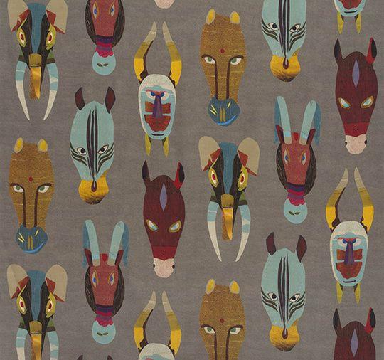 73 best images about print sur pinterest tissus japonais capri et motifs - Les plus beaux tissus ...