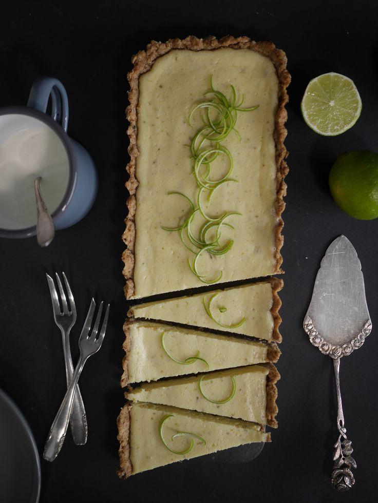Key Lime Pie nach Cynthia Barcomi Pie mit Limettencreme
