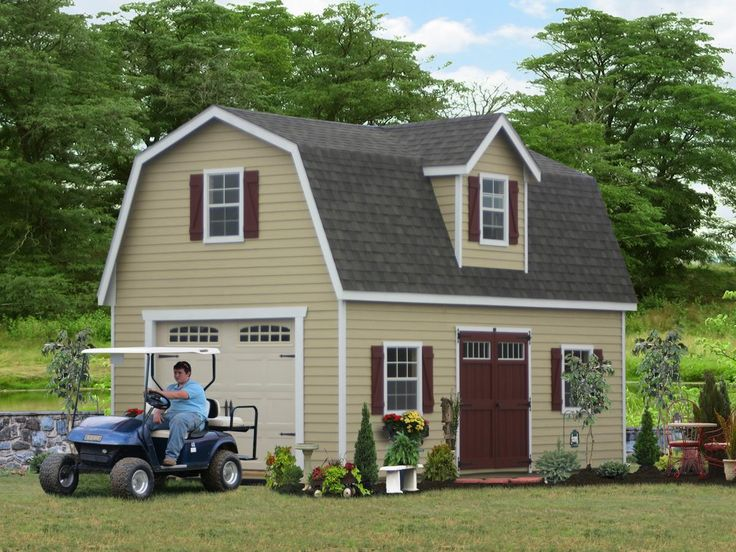 Wooden Two Story Garages For Sale in PA