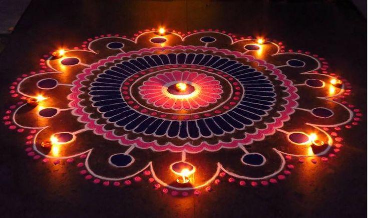 Diwali Kolam Designs