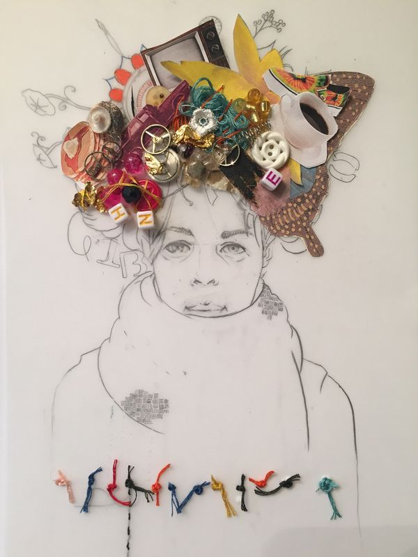 'Where I'm From' by Shanna Tellez. Work from ARE6641 Contemporary Issues in Art Education.