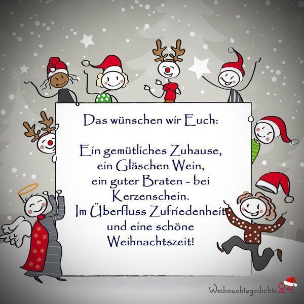 Frohe Bilder | Weihnachtsgrüße sprüche, Weihnachten spruch ...