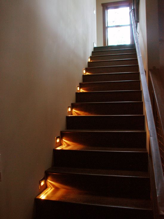 52 best images about staircase lighting on pinterest - Interior stair lighting ideas ...