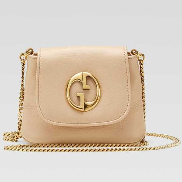 Gucci 1973 Small Shoulder Bag 251821 in Sand