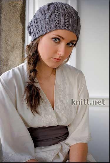 Вязаная шапка STARR   knitt.net   Все о вязании