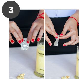 Diamond Candles - every candle has a ring inside, worth between $10 and $5,000.  WANT ONE!!!!
