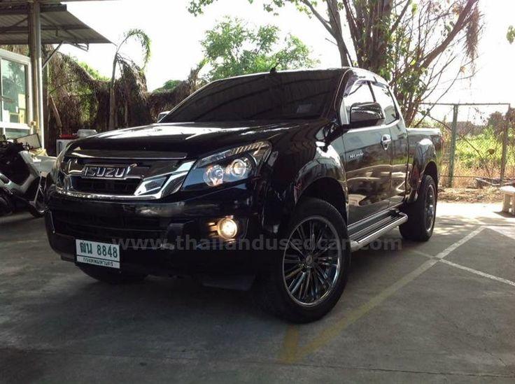 ขายรถกระบะ ISUZU D-MAX อีซูซุ รถปี2012 สีดำ
