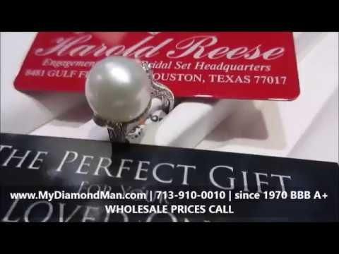 WHOLESALE DIAMOND JEWELRY STORE HOUSTON  CUSTOM DESIGNED ENGAGEMENT RINGS & BRIDAL SET since 1970. ONE OF A KIND DESIGNS. Visit us today - $100 to $1,000s - Visit us before you buy from a retail jewelry store. 8481 Gulf Freeway, Houston, TX 77017 | Call: 713-910-0010 http://mydiamondman.com/houston-jewelry/pearl-ring-houston/