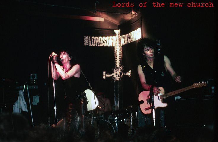 Lords of The New Church at he Cuckoos Nest Stiv Bators, Brian James, Dave Tregunna, Nicky Turner