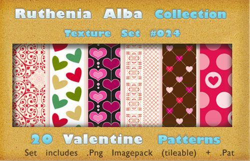 70  Hearts Patterns for Valentines Projects
