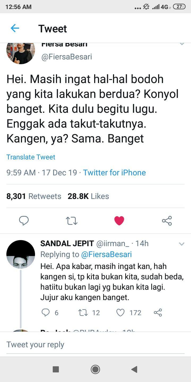 Ambyar Twitter Screenshoot Quotes Indonesia Di 2020 Masih