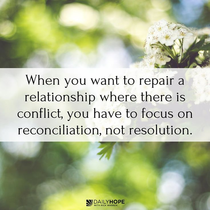 How to reconcile a christian dating relationship