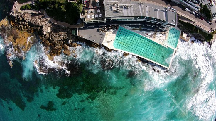 The Bondi to Coogee walk is truly a route paved with breathtaking views of the Pacific Ocean crashing on the rugged ancient rocks. Check it out from up top!