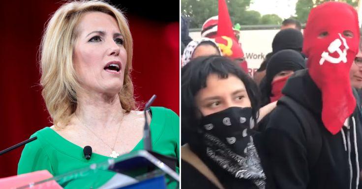 Laura Ingraham Announces Brilliant Plan To BAN Antifa