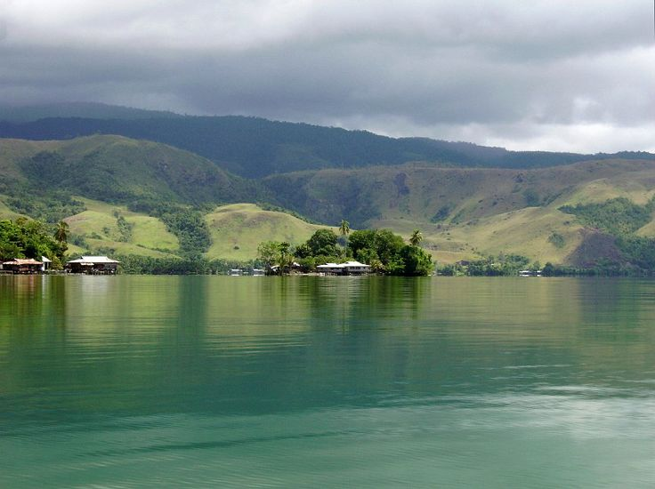 Sentani Mountain, Sentani Lake, Papua