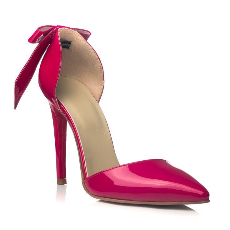DARE TO WEAR >> Pantofi stiletto Fuchsia