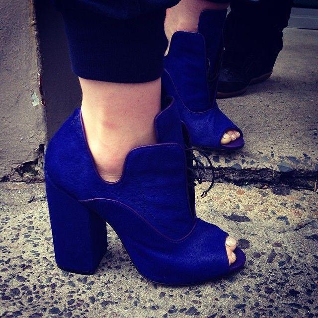 Ellery shoes at MBFWA
