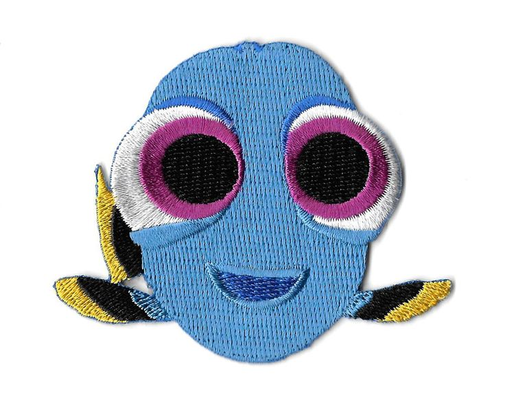 Baby Dory - Finding Dory - Movie - Nemo - Embroidered Iron On Applique Patch #Unbranded