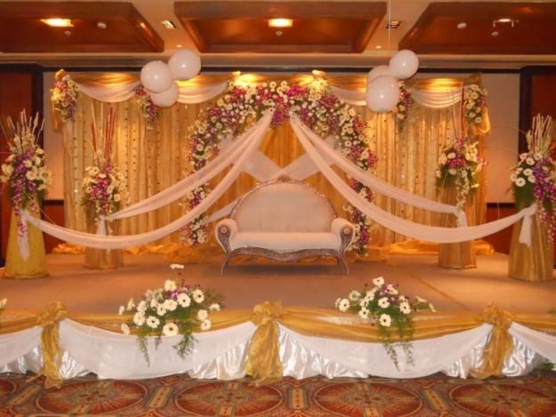 Wedding Stage Decoration Price : Bangalore stage decoration design flower