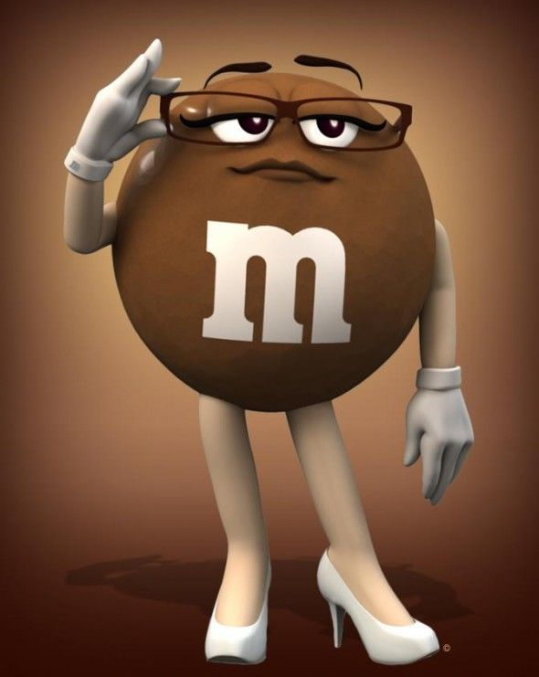 m&m candy characters | ... Bowl was the M&M's commercial featuring their new character Ms. Brown