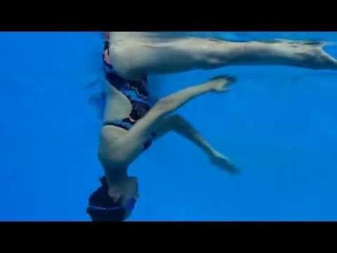 Synchronized Swimming Paddel Scull - YouTube