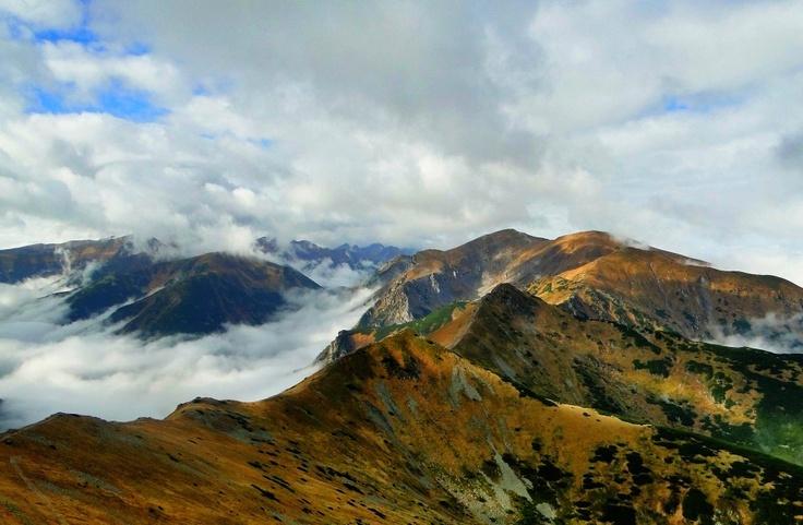 The Tatra Mountains in autumn :)