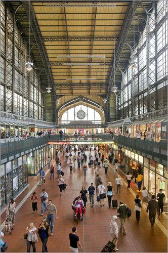 Wandelhalle Hauptbahnhof Hamburg