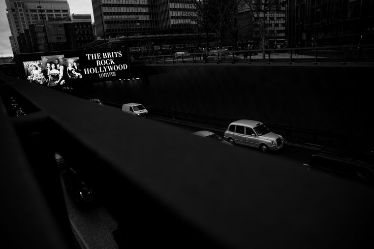 The covers of the latest issue of Vanity Fair made for a very dramatic Euston underpass