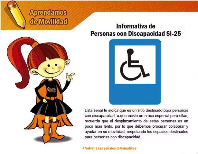 Las señales informativas 5 - Secretaria Distrital de Movilidad