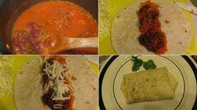Meksika Fasulyeli Burrito