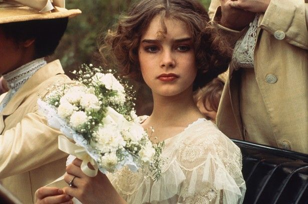 Brooke Shields in 'Pretty Baby'. When I was a young girl, I was always told that I looked like Brooke Shields...
