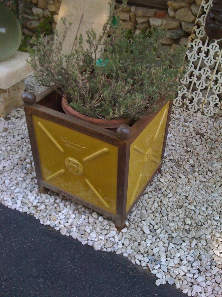 finish hillcrestdecor patina finish planter angle outdoor planter