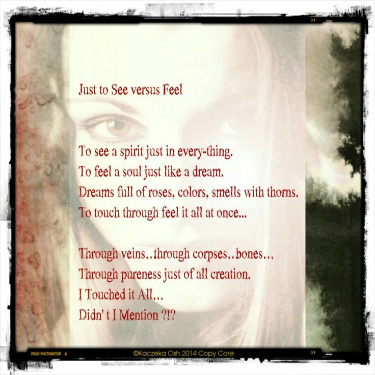 """Well...I had a poetic day...today :)...so...I wrote """"this one"""" ;D ♡"""