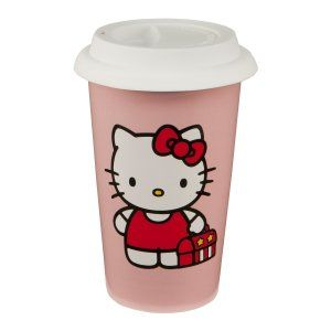 Vandor 18251 Hello Kitty 12 oz Double Wall Ceramic Travel Mug with Silicone Lid, Pink Too all Hello Kitty Fans this is so adorable that it is just a must have. http://theceramicchefknives.com/ceramic-mug-lid/ 12-Ounce, 12-Ounce Eco Travel Mug, Black, Blue, Cafe Mocha Vodka Insulated Travel Mug, Ceramic Mug With Lid,