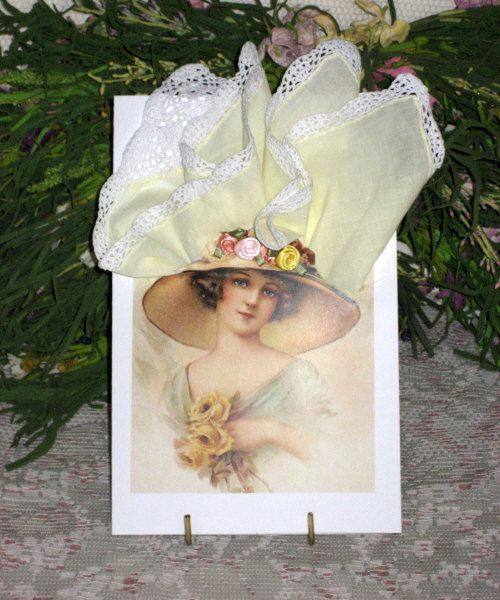 Приколами, как сделать открытку с платком