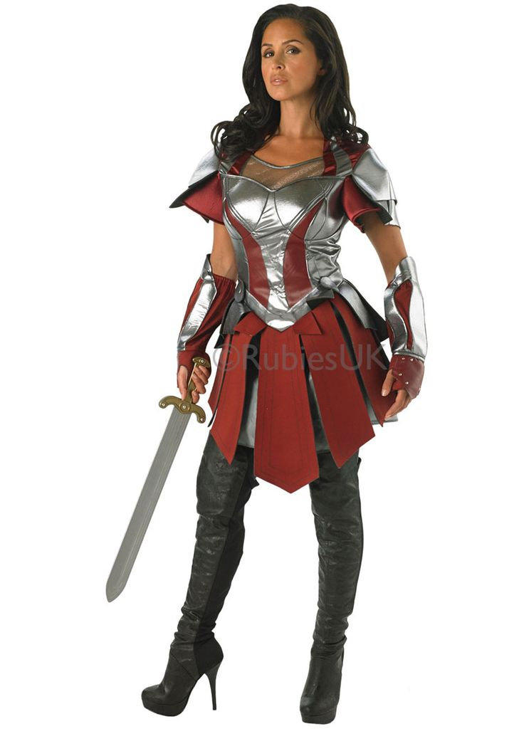 Ladies Sif Costume, Official Thor 2 Movie Fancy Dress - Superhero Costumes at…